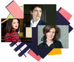 New Ross Piano Festival 2018 artists – Alexandra Dariescu, Anne-Marie McDermott and Finghin Collins