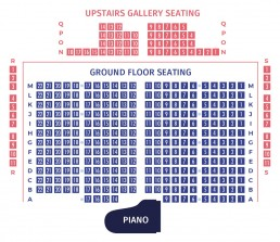 New Ross Piano Festival 2018 – St. Mary's Church seating plan